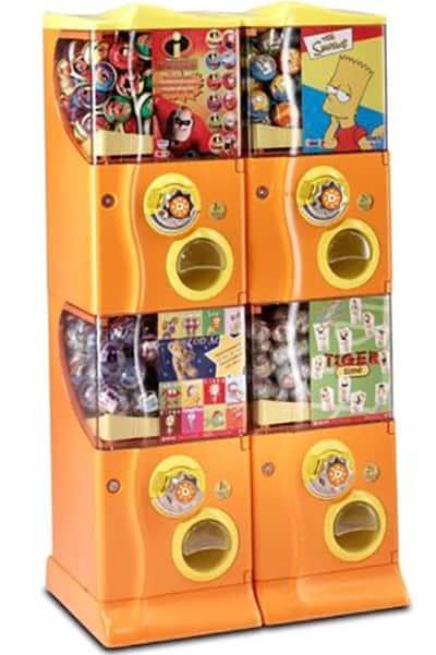 Discapa vendor vending machine