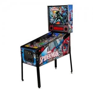 Spiderman arcade machine