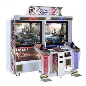 Time Crisis 4 arcade machine