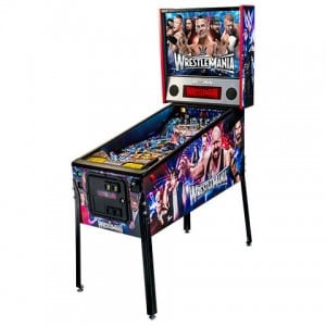 Wrestlemania pinball