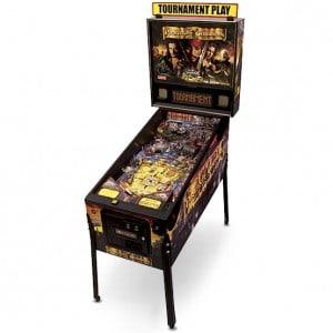 pirates caribbean pinball machine