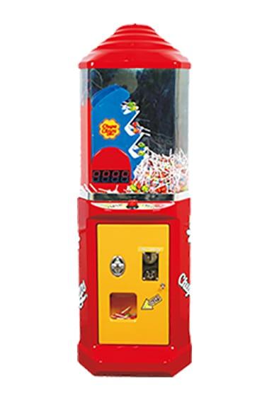stairway vendor vending machine
