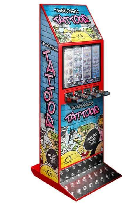 red tattoo machine
