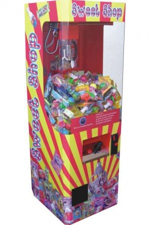 sweet shop vending crane