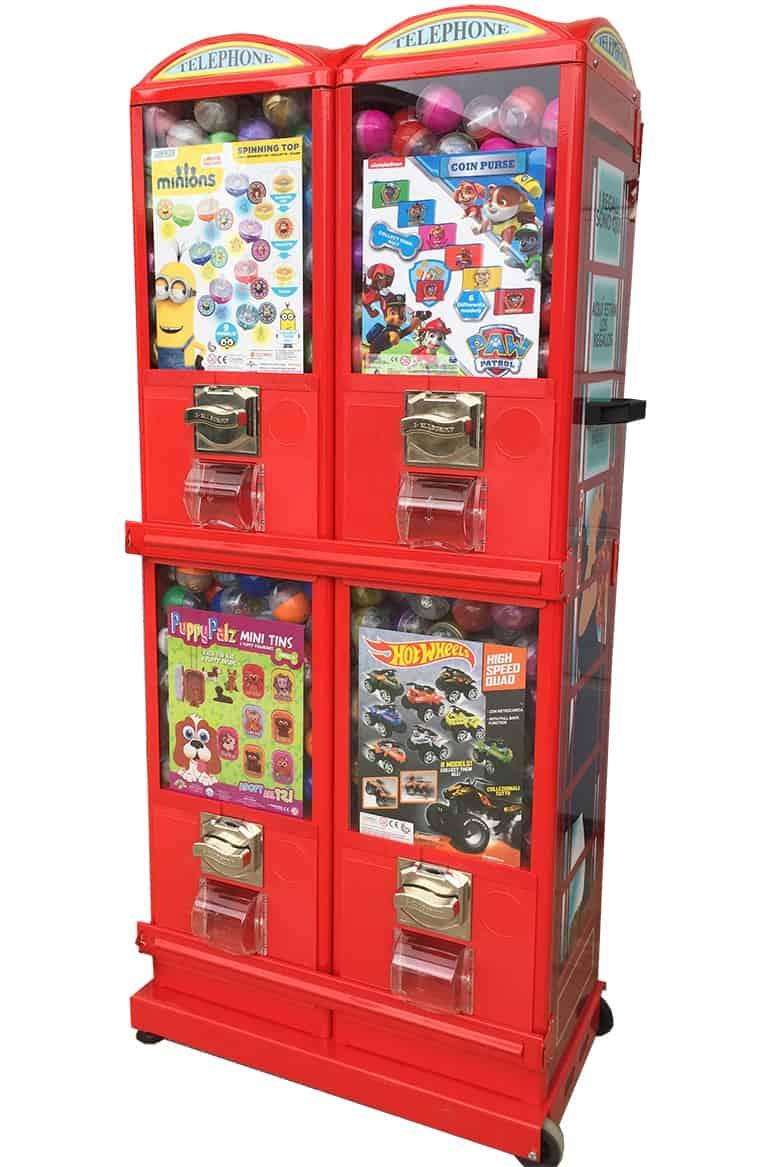 telephone vendor vending machine