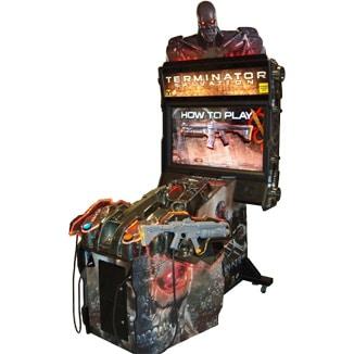 terminator arcade machine